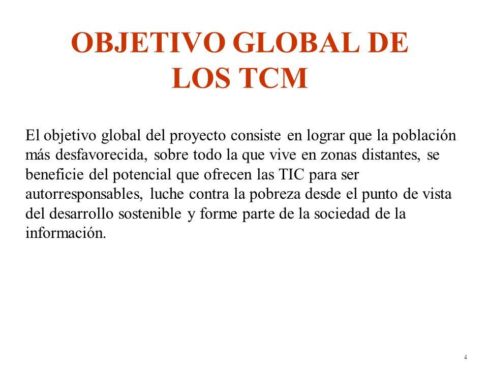 3 ¿QUÉ ES UN TCM .Es un centro tecnológico convival multiservicios donde se utilizan TIC.