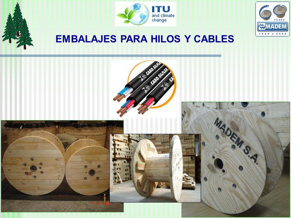 EMBALAJES PARA HILOS Y CABLES