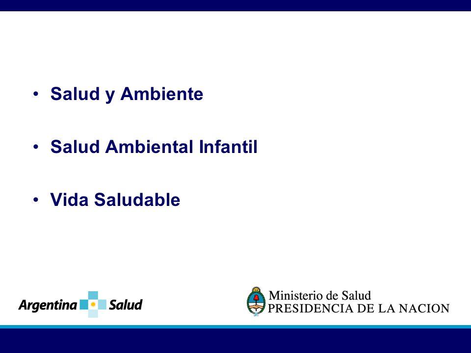 Salud y Ambiente Salud Ambiental Infantil Vida Saludable
