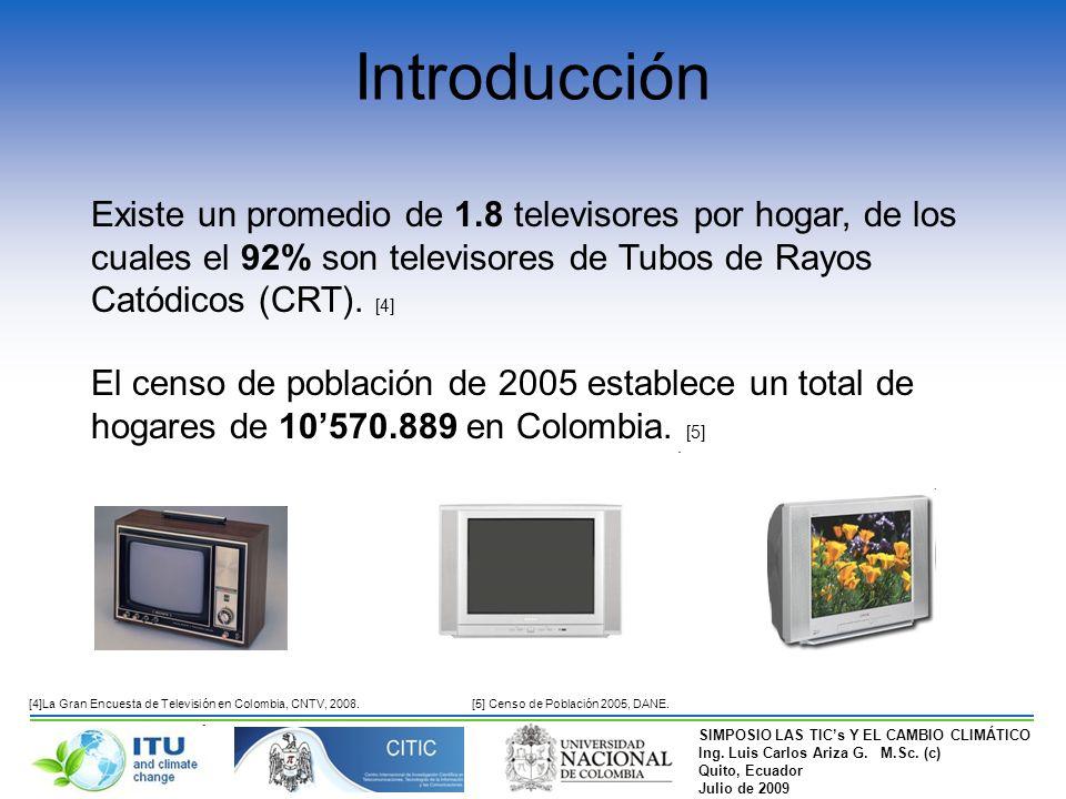 SIMPOSIO LAS TICs Y EL CAMBIO CLIMÁTICO Ing. Luis Carlos Ariza G.