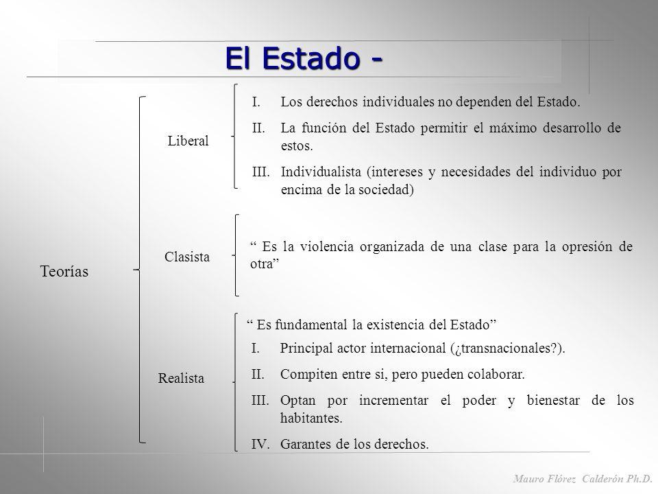 Contexto ideológico Contexto ideológico Mauro Flórez Calderón Ph.D.