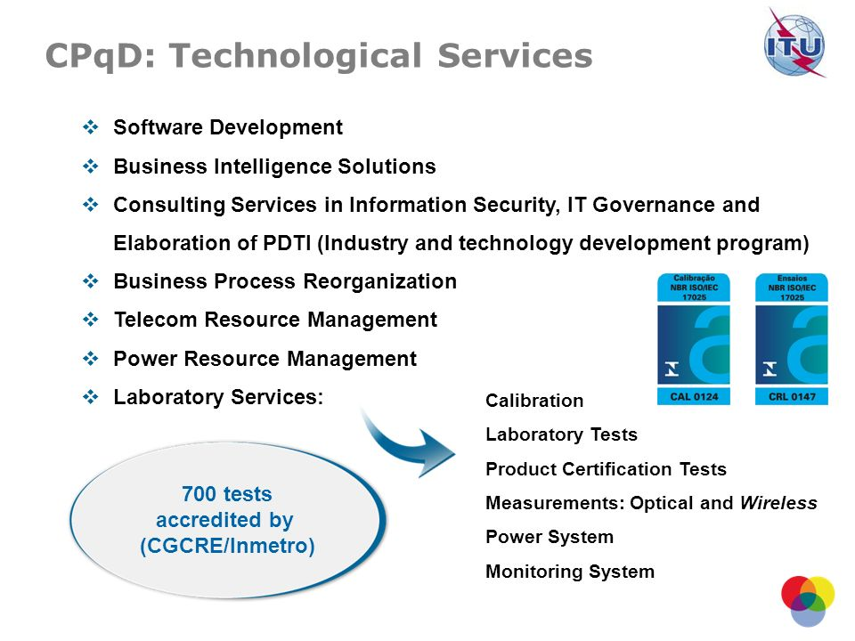 Software Development Business Intelligence Solutions Consulting Services in Information Security, IT Governance and Elaboration of PDTI (Industry and