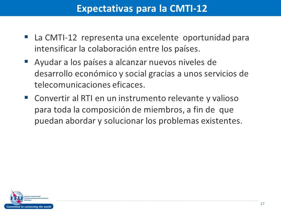 La CMTI-12 representa una excelente oportunidad para intensificar la colaboración entre los países.