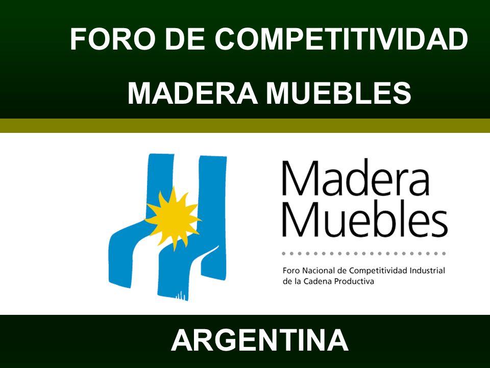 FORO DE COMPETITIVIDAD MADERA MUEBLES ARGENTINA