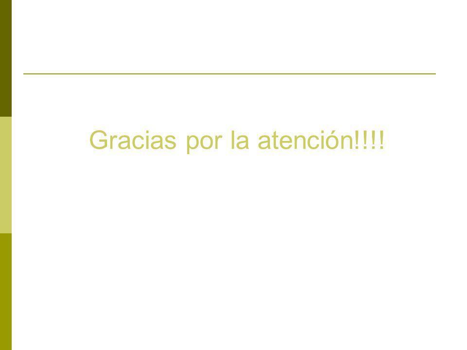 Gracias por la atención!!!!
