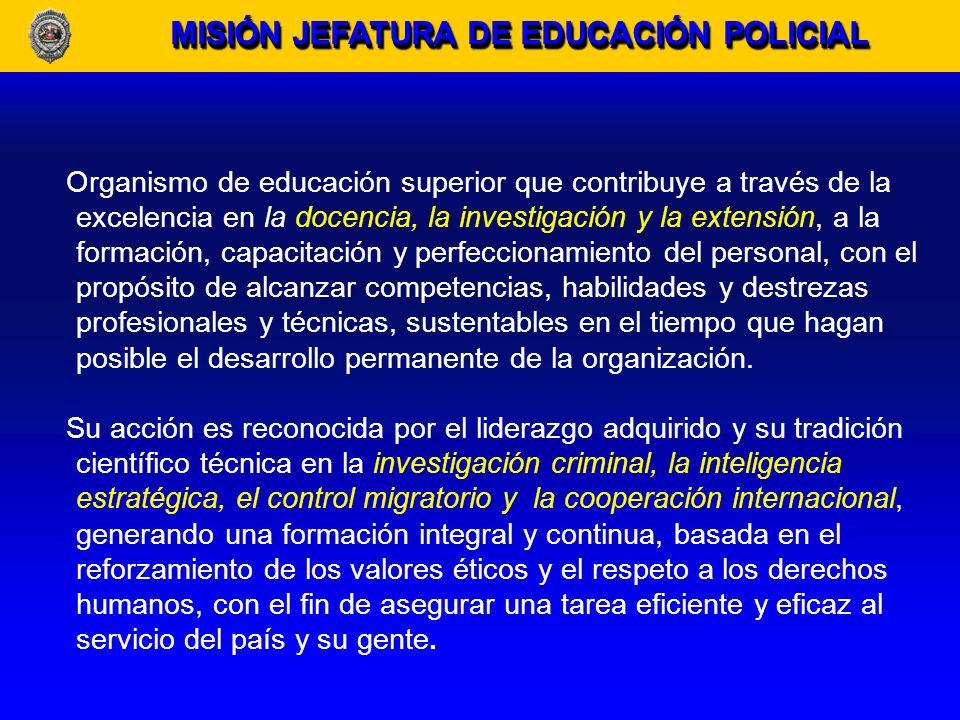 OBJETIVOS INSTITUCIONALES Liderazgo efectivo en criminalística y criminología.