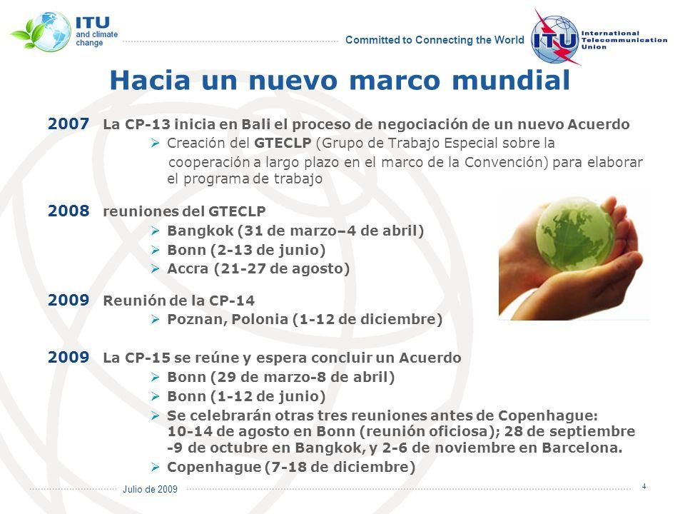 International Telecommunication Union ¡Gracias por su atención.