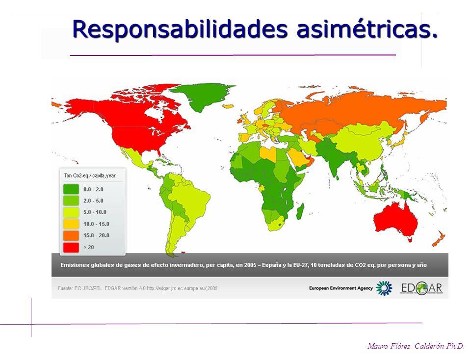 Responsabilidades asimétricas. 2004-2008- 2009 Responsabilidades asimétricas. 2004-2008- 2009 Mauro Flórez Calderón Ph.D. 20042008 Germany3,19%3,00% I