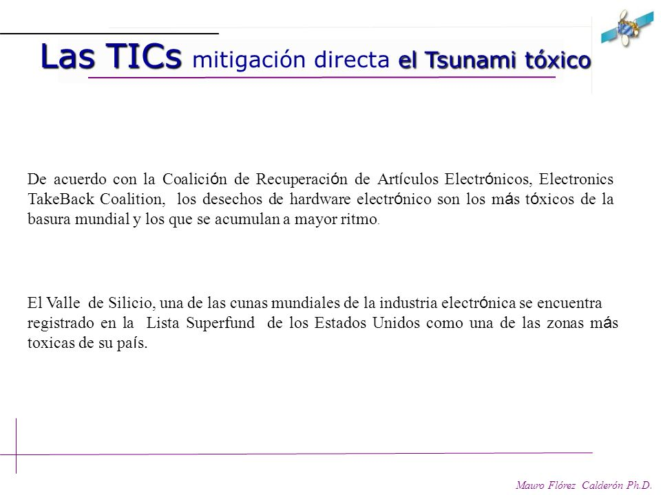 Las TICs mitigación directa Las TICs mitigación directa Mauro Flórez Calderón Ph.D. Mitigación: directa, indirecta y sistemática. Mitigación Directa: