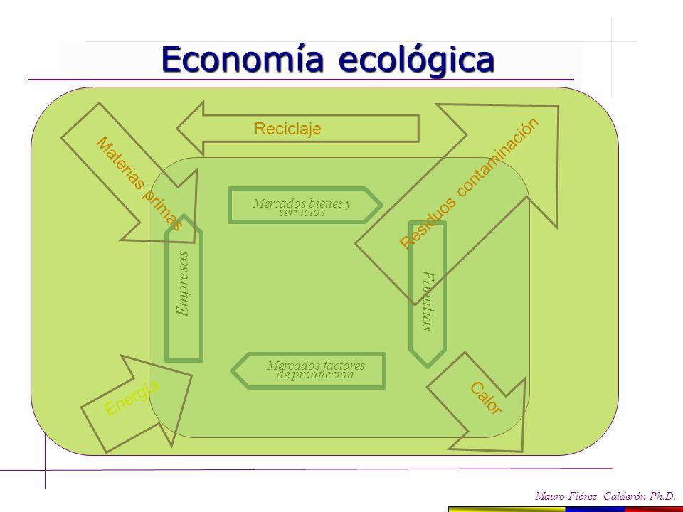 Modelos económicos Modelos económicos Mauro Flórez Calderón Ph.D. Economía neoclásica Mercados bienes y servicios Familias Mercados factores de produc