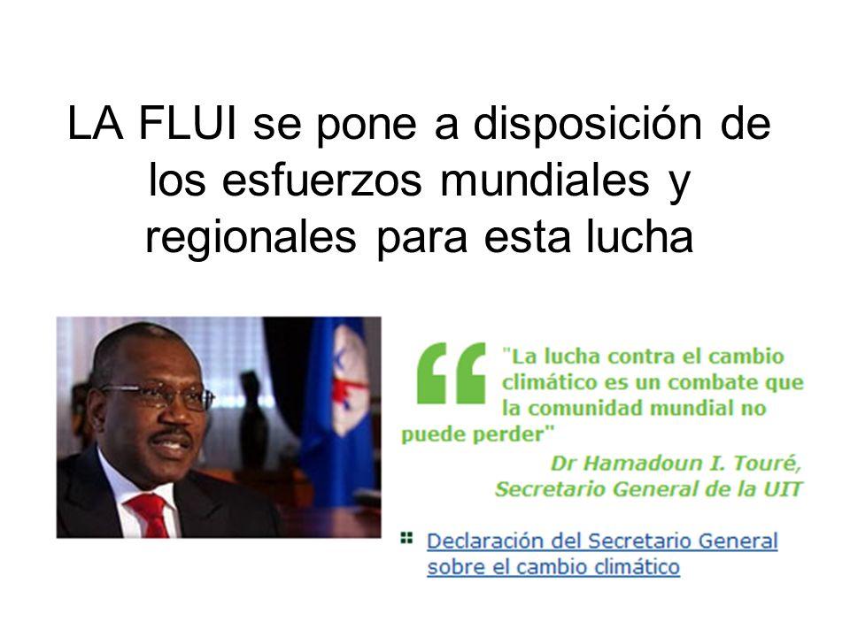 LA FLUI se pone a disposición de los esfuerzos mundiales y regionales para esta lucha