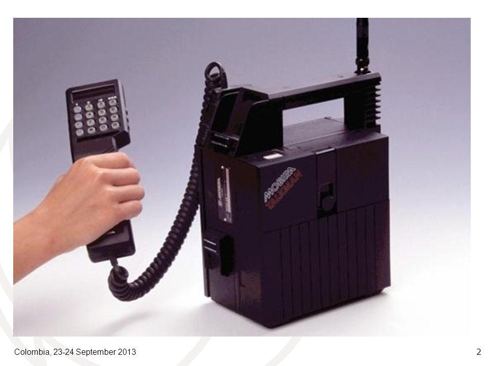 Colombia, 23-24 September 2013 2 Evolución e Historia La LGT de 1982 estableció conceptos generales sobre calidad en la prestación de los servicios telefónicos.