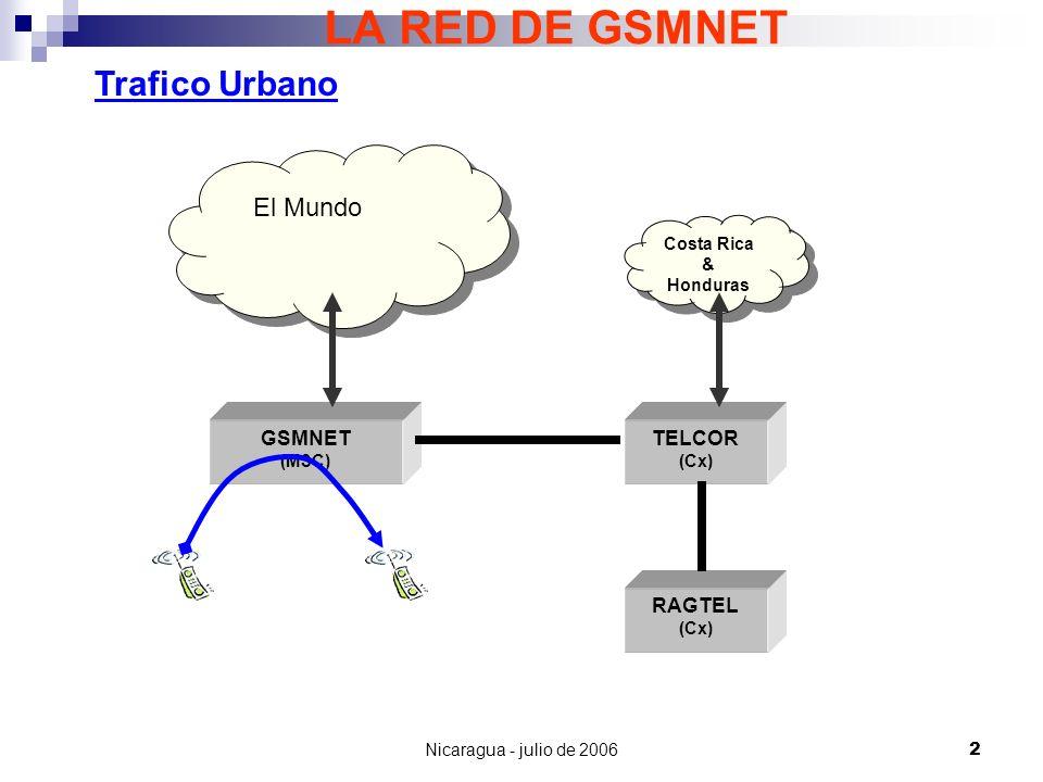 Nicaragua - julio de 200623 TARIFAS FINALES (AL PUBLICO) 1.COSITU provee como resultado costos y tarifas endógenas, y una comparación con las tarifas vigentes.