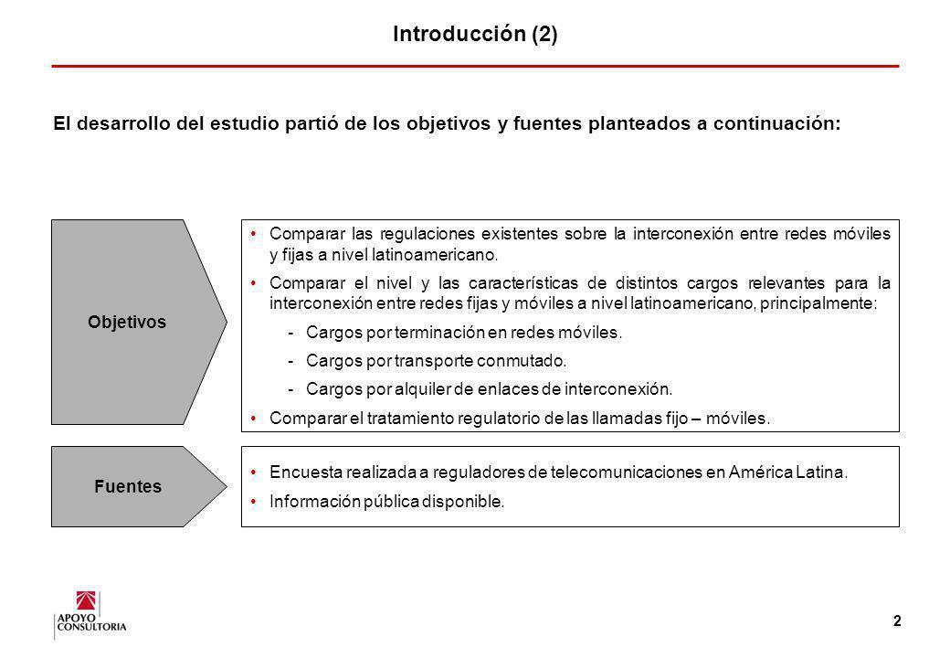 1 Introducción (1) La interconexión entre redes es clave para el desarrollo de la competencia en el mercado de las telecomunicaciones. La interconexió