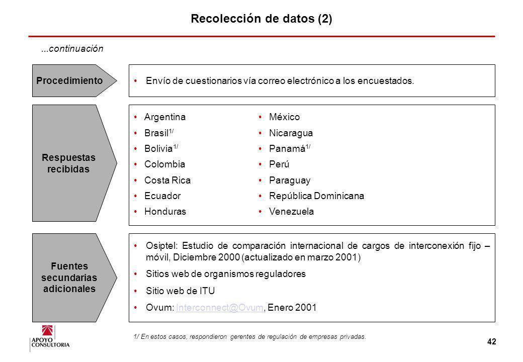 41 Recolección de datos La metodología empleada para la recolección de datos consistió en la aplicación de una encuesta con las siguientes característ