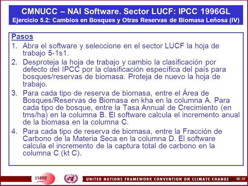 6E.57 57 CMNUCC – NAI Software.