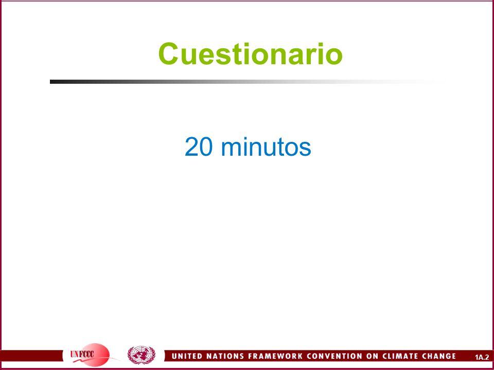 1A.2 Cuestionario 20 minutos