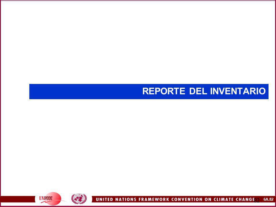 6A.82 82 REPORTE DEL INVENTARIO
