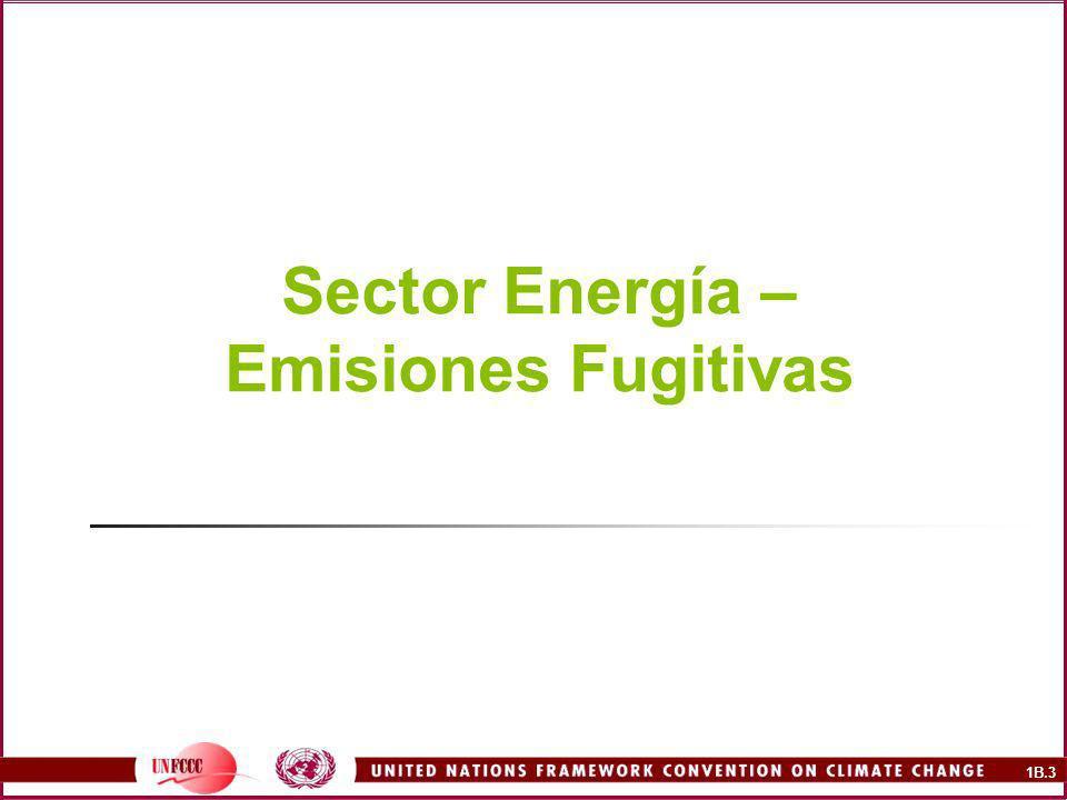 1B.14 Control de Emisiones Pozos degasificadores Conservación de Gas Quema en antorcha Uso de quemadores catalíticos en la salida de los sistemas de ventilación de las minas subterráneas