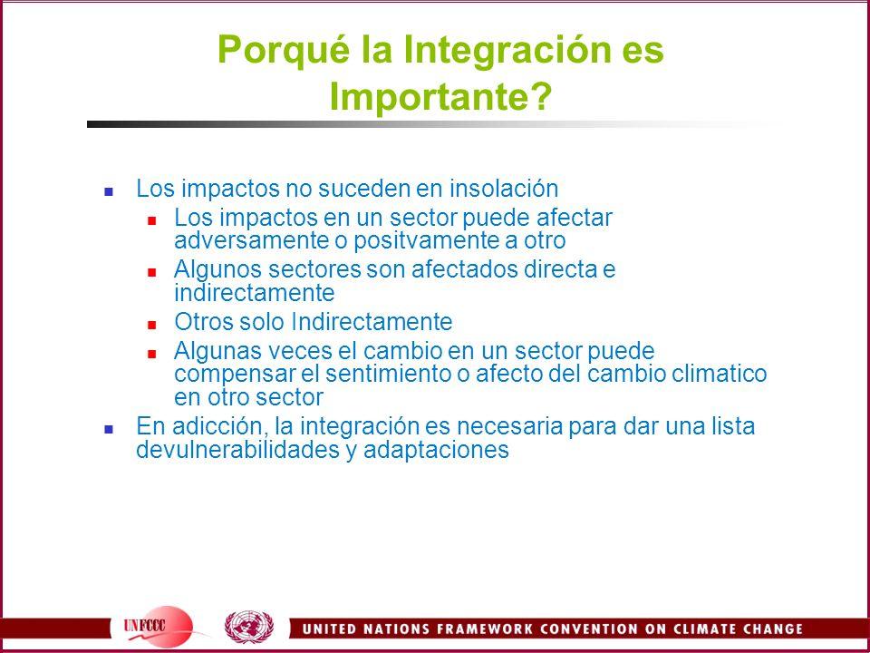Porqué la Integración es Importante.