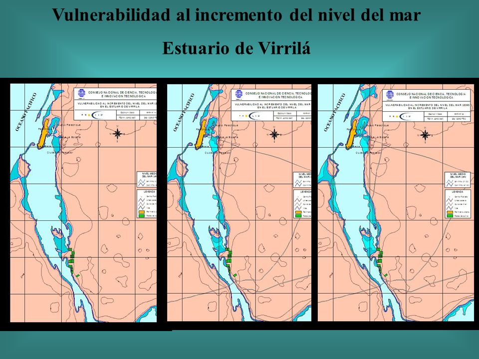 Vulnerabilidad al incremento del nivel del mar Estuario de Virrilá