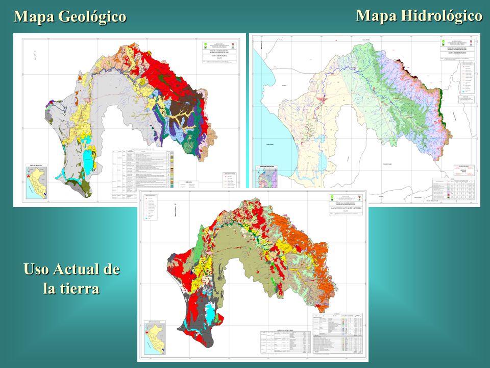 Incidencia espacial de Inundaciones en la Cuenca por décadas (1970-2003) 1970-79 1990-99 1980-89 En las dos primeras décadas, se mantuvo significativa incidencia de inundaciones en el bajo Piura, que se redujo sensiblemente en la última década.
