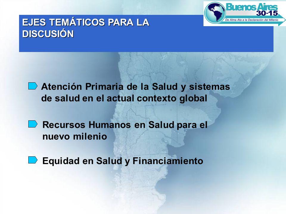 Duración de la Conferencia de cinco días Palacio San Martín: Inauguración oficial.
