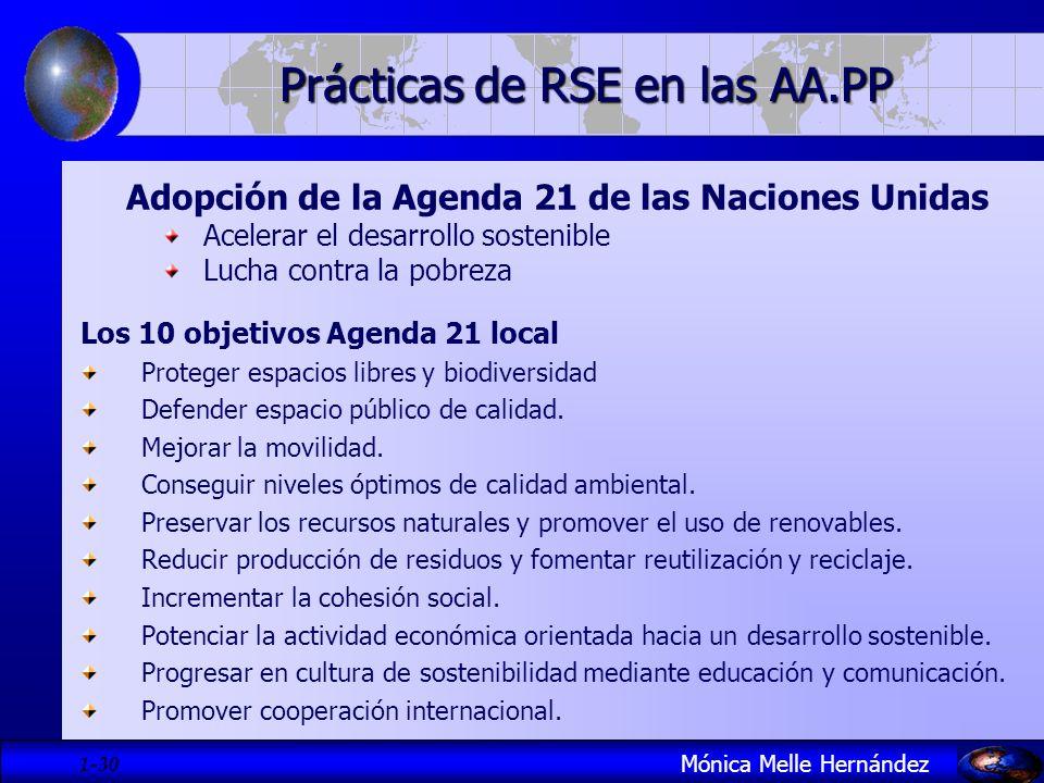 1- 30 Adopción de la Agenda 21 de las Naciones Unidas Acelerar el desarrollo sostenible Lucha contra la pobreza Los 10 objetivos Agenda 21 local Prote