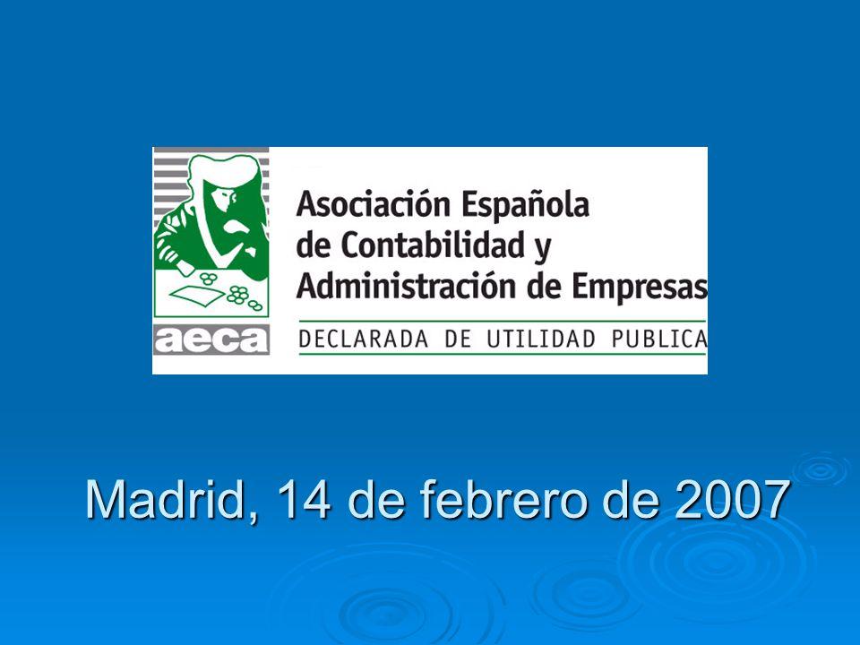 Madrid, 14 de febrero de 2007