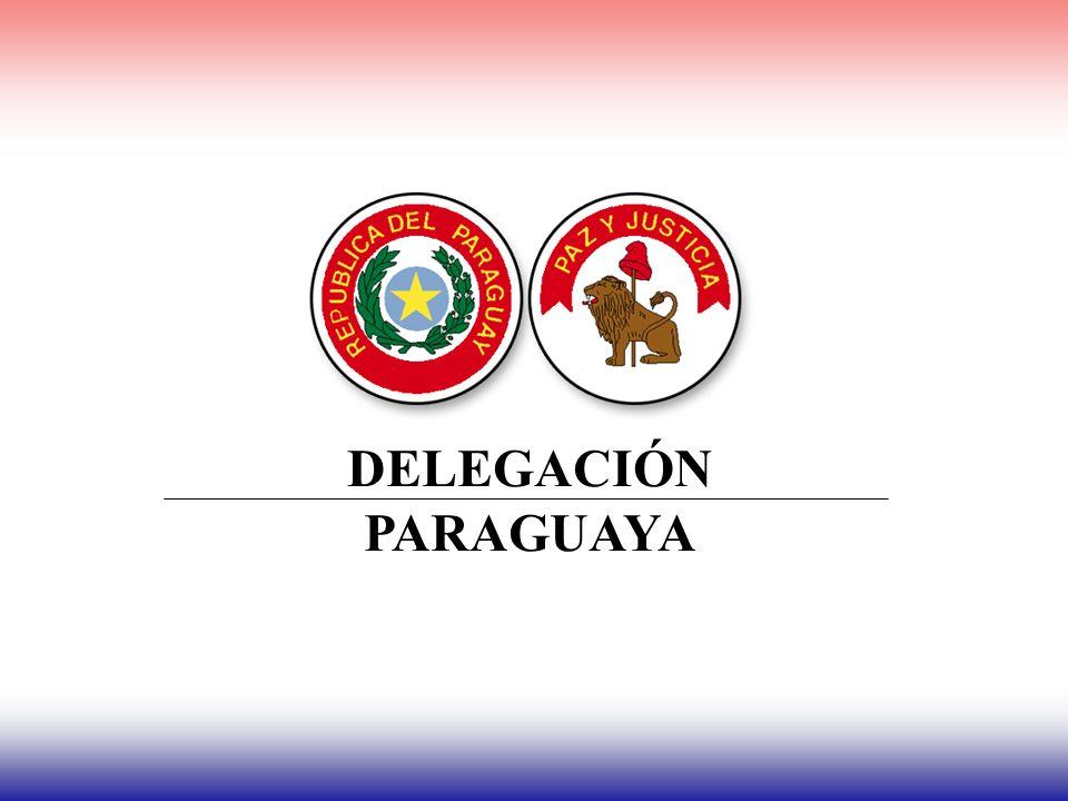 DELEGACIÓN PARAGUAYA