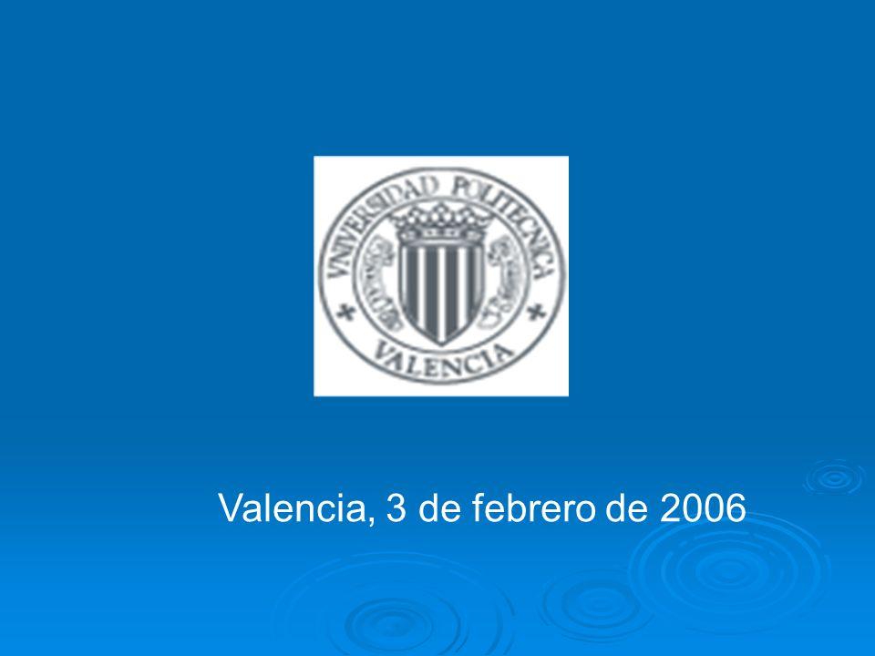 Valencia, 3 de febrero de 2006