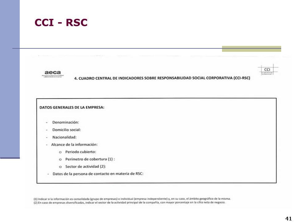 CCI - RSC 41