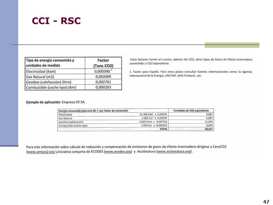 CCI - RSC 47