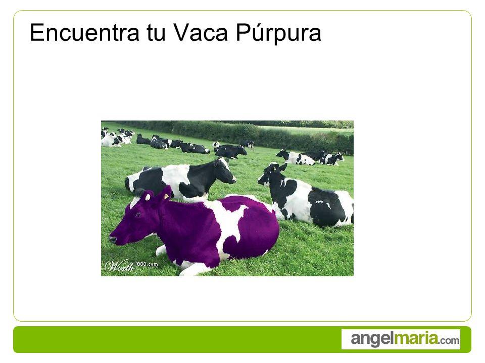 Encuentra tu Vaca Púrpura