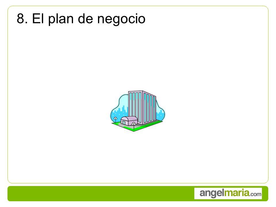 8. El plan de negocio