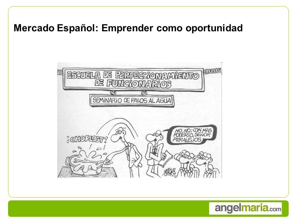 Mercado Español: Emprender como oportunidad