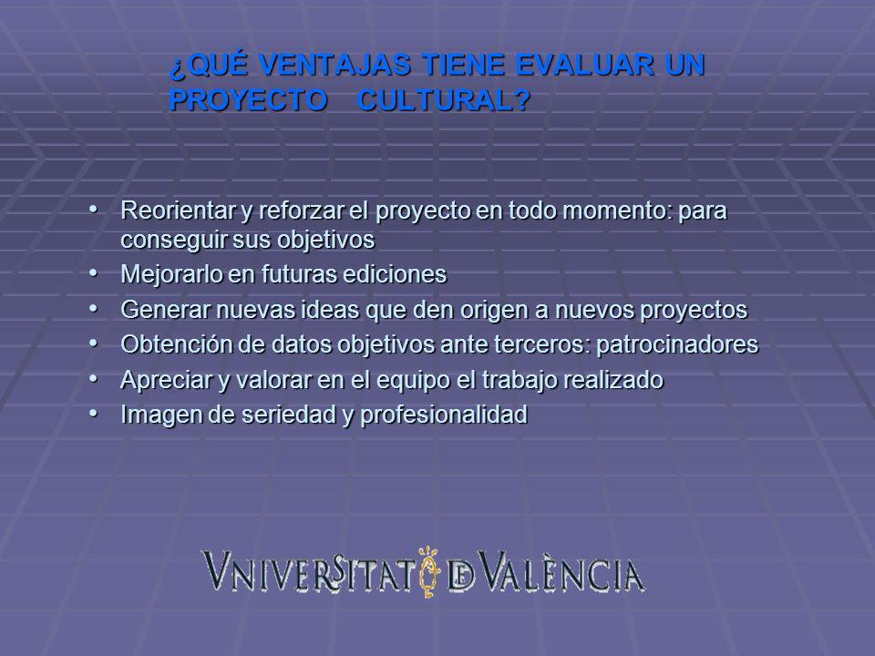 BIBLIOGRAFÍA: D.Roselló, Diseño de Proyectos Culturales, Ed.