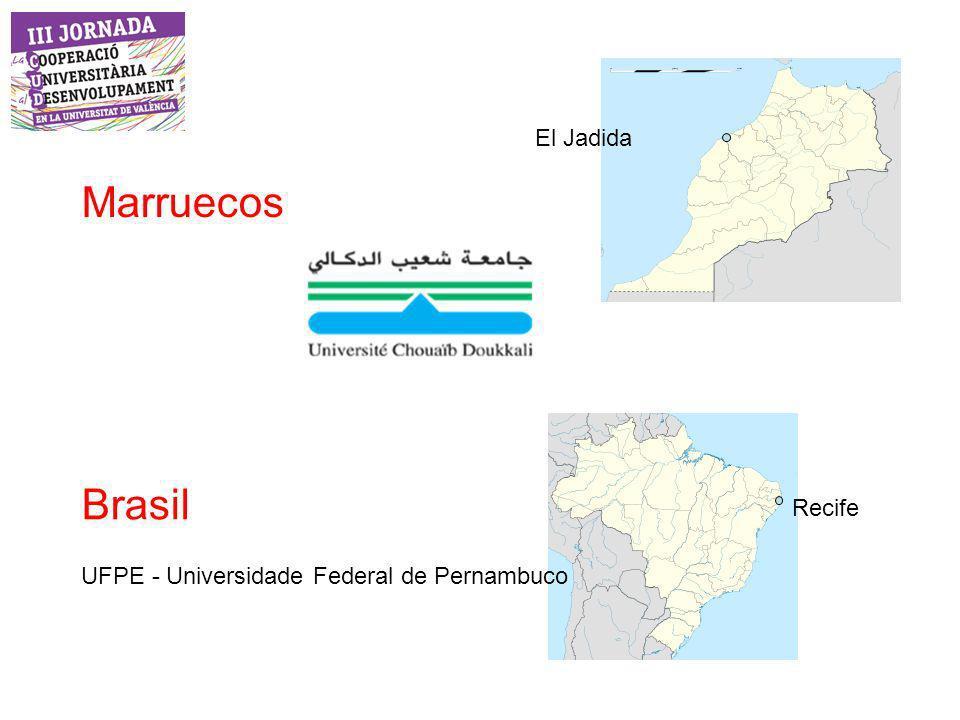 Marruecos Brasil El Jadida Recife UFPE - Universidade Federal de Pernambuco