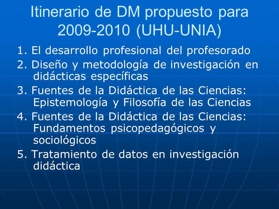6.La investigación en Didáctica de la Matemática 9.