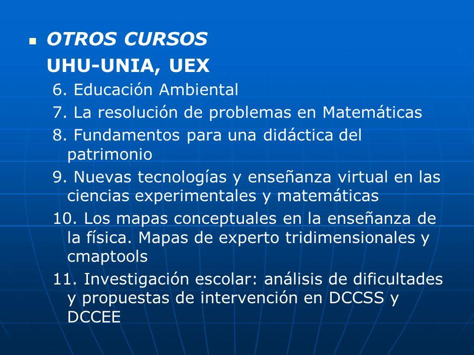 UHU-UNIA 12.La investigación en didáctica del patrimonio 13.