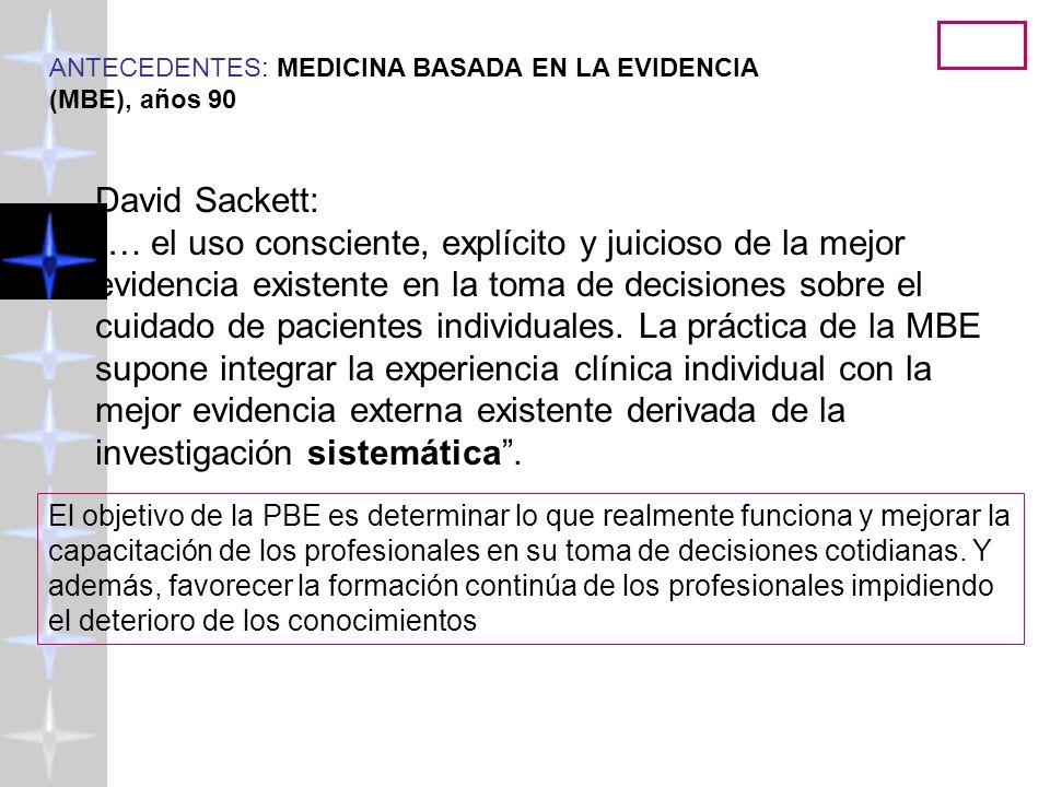 Psicología Basada en la Evidencia ( http://www.uv.es/friasnav) 2008 25 ¿Por que necesitamos hacer lectura crítica.