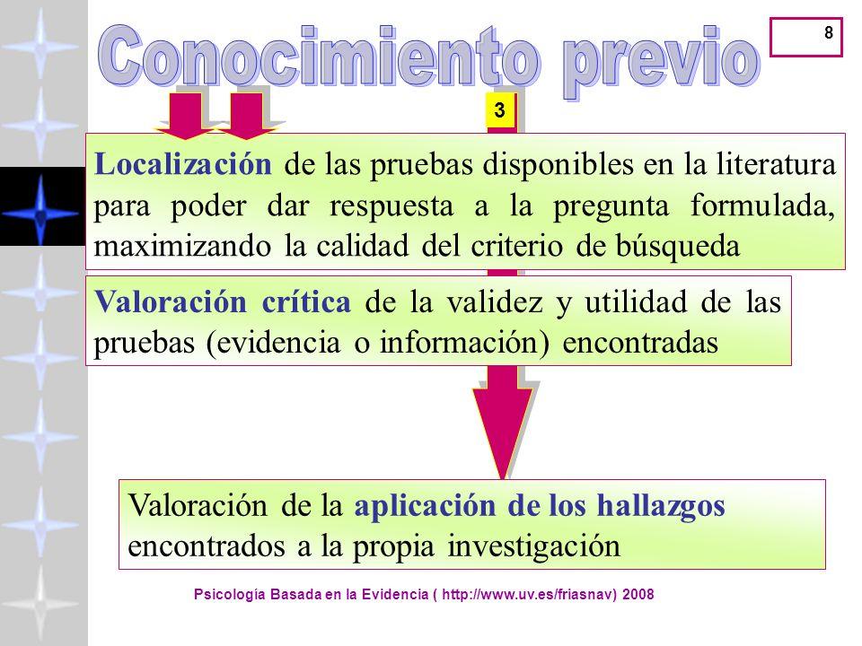 Lectura y valoración de la investigación científica ( http://www.uv.es/friasnav) 49 PREJUDICE SUBTLE 183 RESULTS