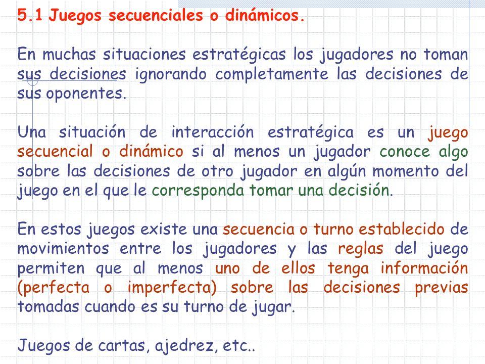 El EN (B,C) representa claramente una amenaza del padre al niño: si te portas mal (acción M), te castigaré (acción C).