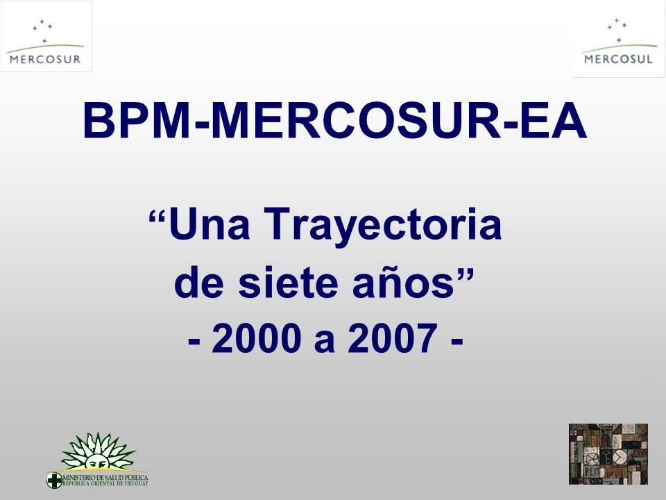 PT BPM-MERCOSUR-EA Una Trayectoria de siete años - 2000 a 2007 -
