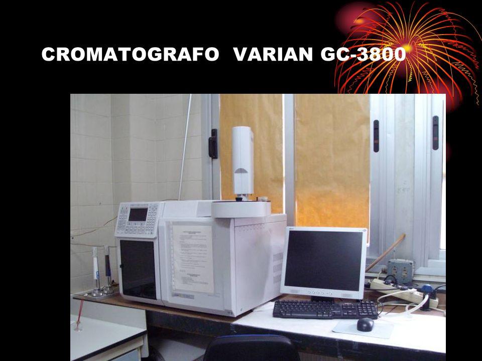 CROMATOGRAFO VARIAN GC-3800