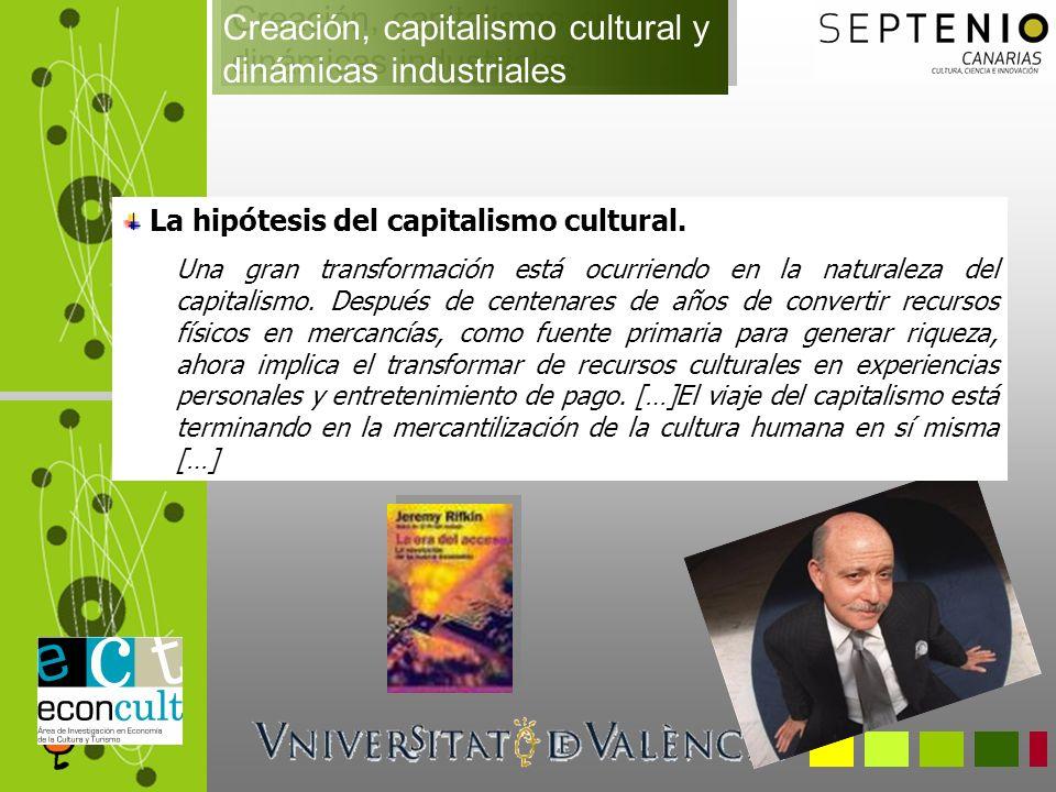 Gestión de Patrimonio y Turismo cultural Porcentaje de PIB cultural por sectores y fases 2000-2004 para España