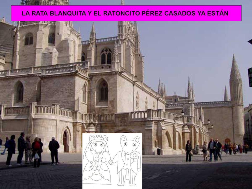 LA RATA BLANQUITA Y EL RATONCITO PÉREZ CASADOS YA ESTÁN