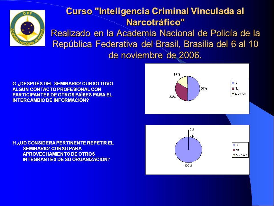 Seminario sobre Metodología de Investigación Policial de Ilícitos Medioambientales.