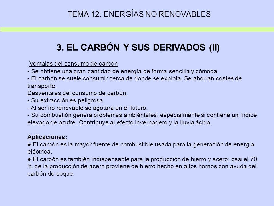 TEMA 12: ENERGÍAS NO RENOVABLES 3.