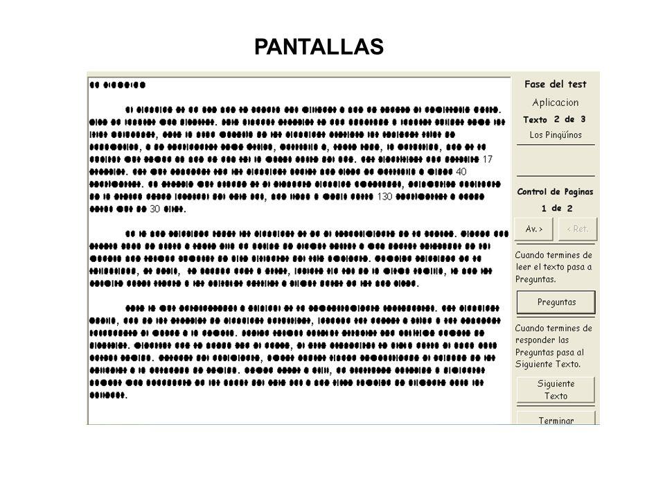 PANTALLAS